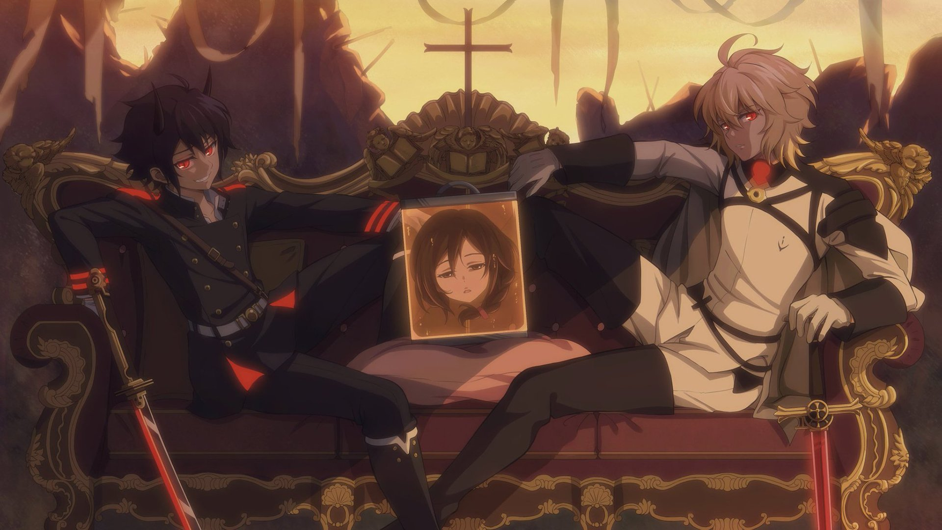 Enjoyable Seraph Of The End Hd Wallpaper Background Image Machost Co Dining Chair Design Ideas Machostcouk