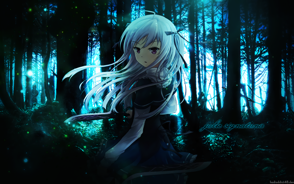 Anime Absolute Duo Julie Sigtuna HD Wallpaper | Background Image