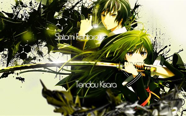 Anime Black Bullet Kisara Tendo Rentaro Satomi HD Wallpaper | Background Image
