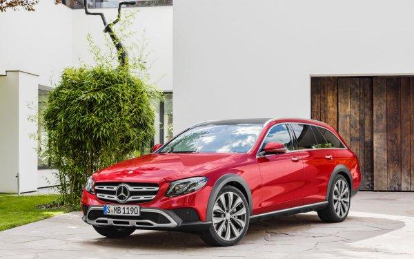 Véhicules Mercedes-Benz E-Class Mercedes-Benz Red Car Voiture Luxury Car Fond d'écran HD | Image