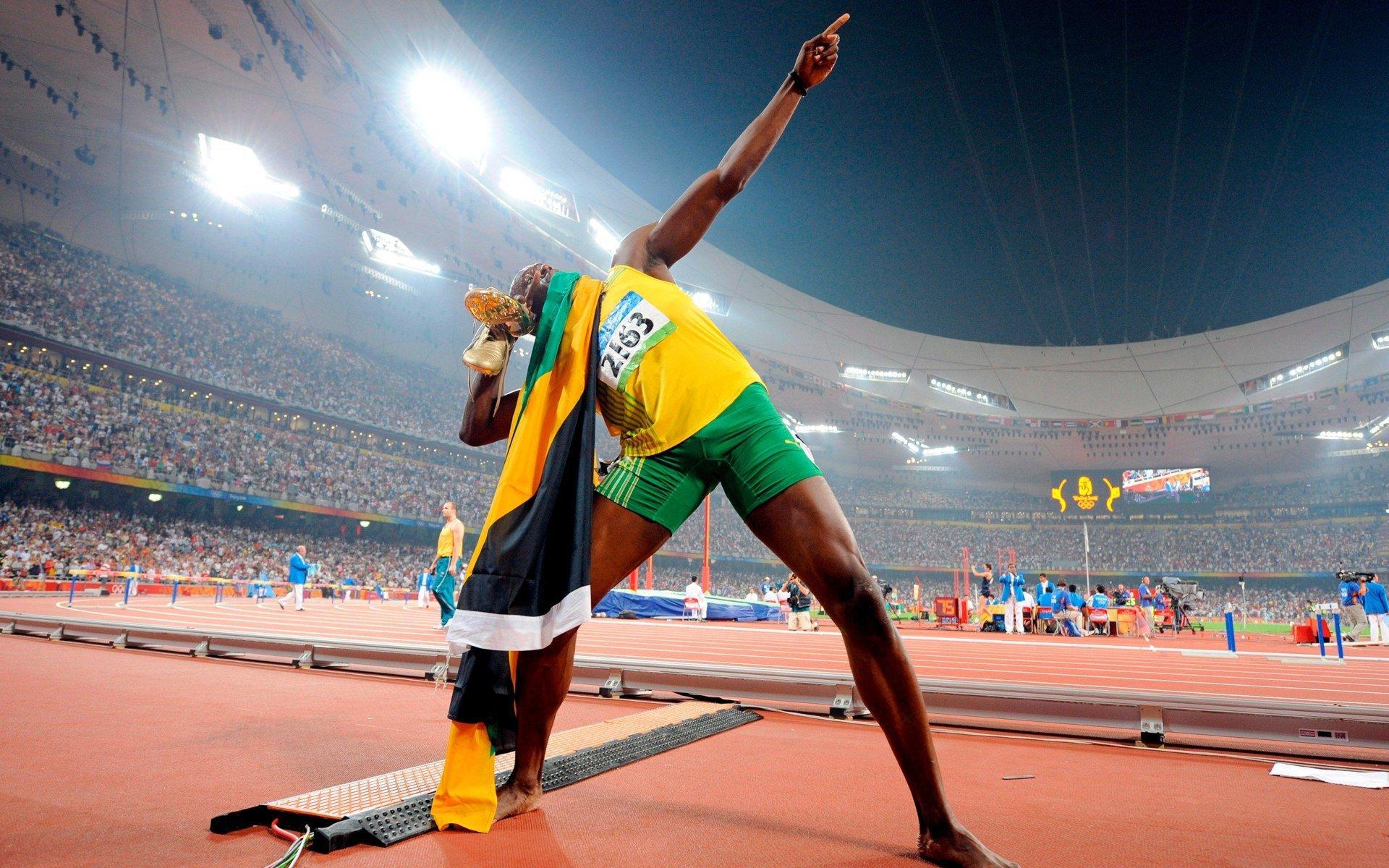 Deporte - Usain Bolt  Lj Handfield Fondo de Pantalla