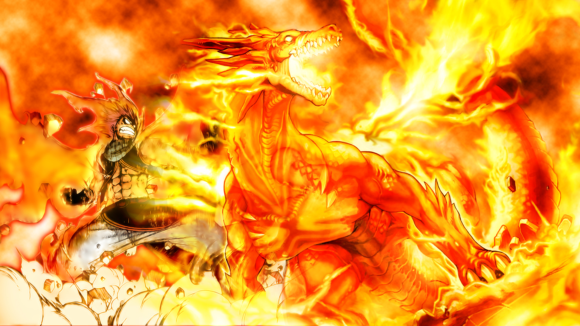 Fairy Tail Hd Wallpaper Background Image 1920x1080 Id 742322