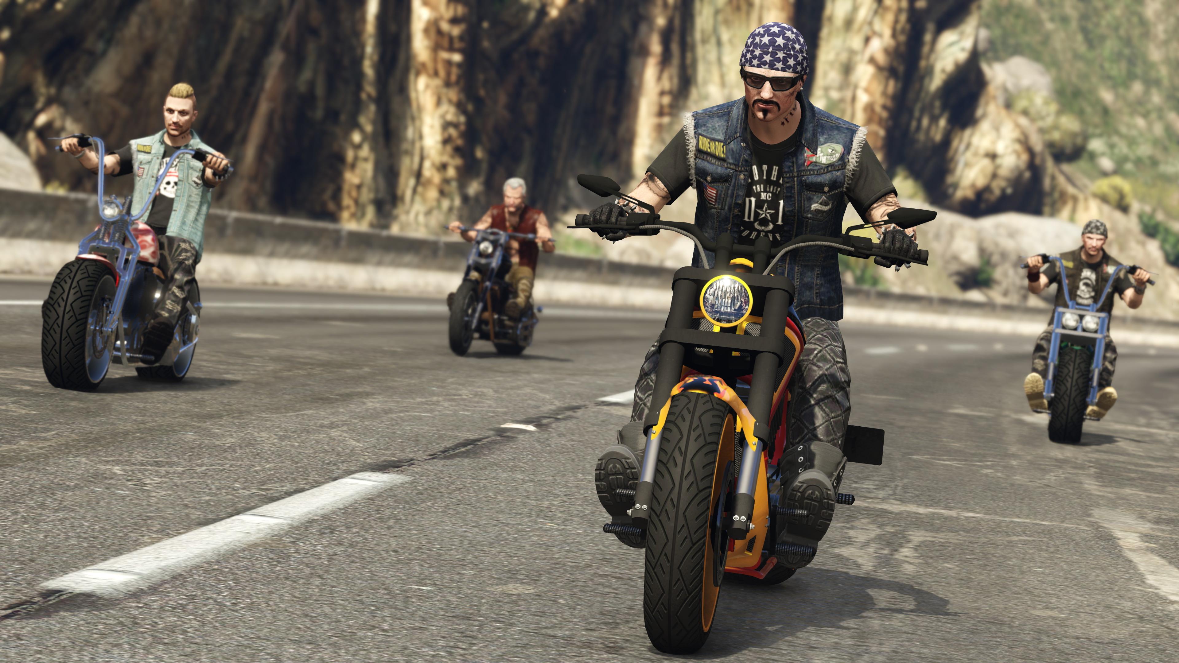 gta, gta online, bikers, bikers dlc, rockstar games, 4k ultra hd