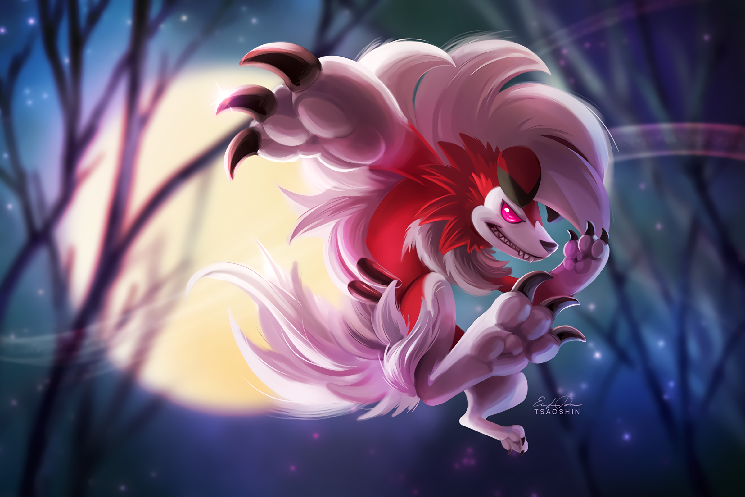 6 Lycanroc (Pokemon) HD Wallpapers