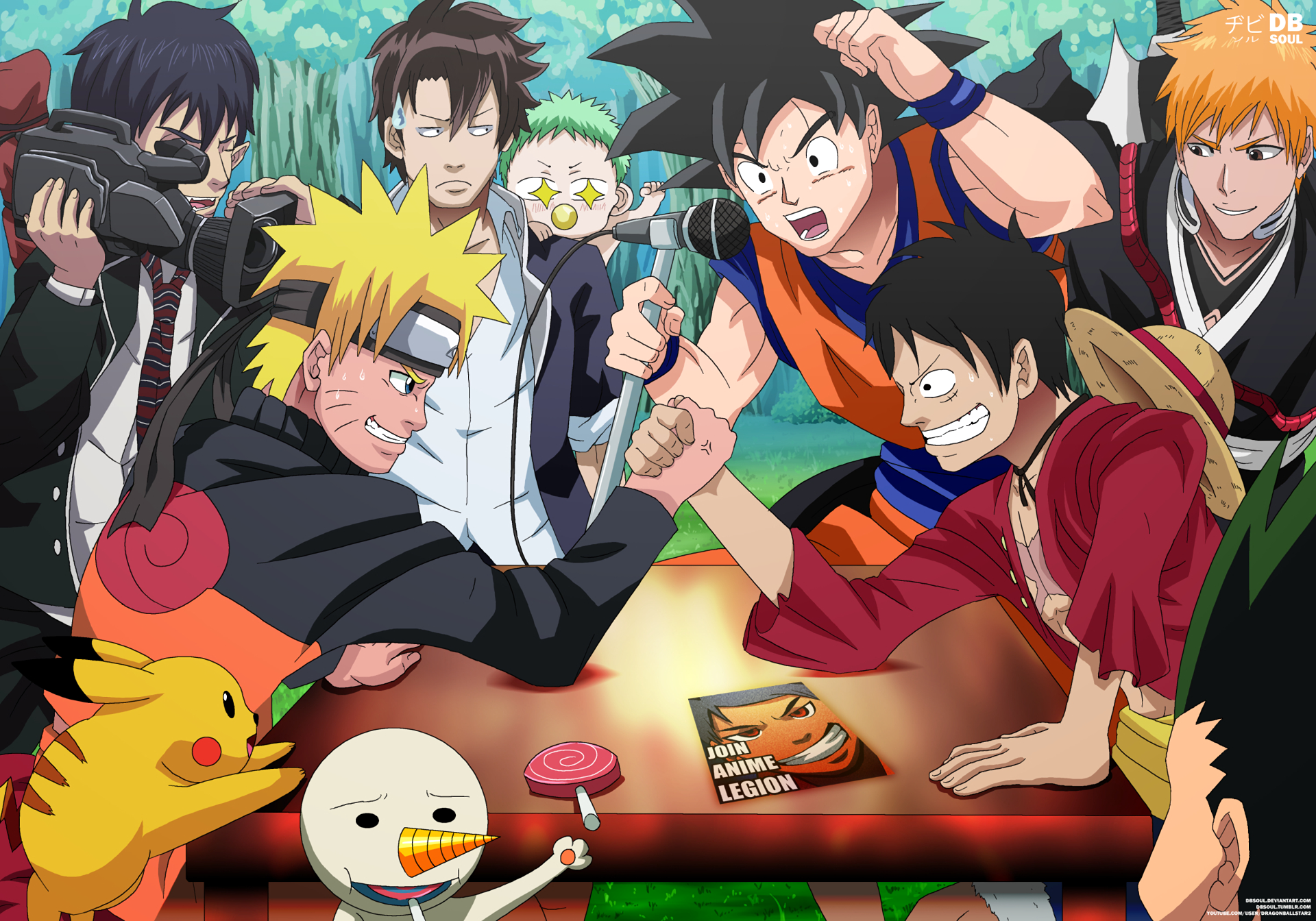 hd wallpaper background id742766 1920x1344 anime crossover