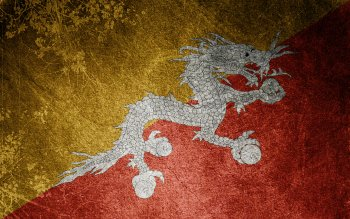 Diversen - Flag Of Bhutan Wallpapers and Backgrounds ID : 74309