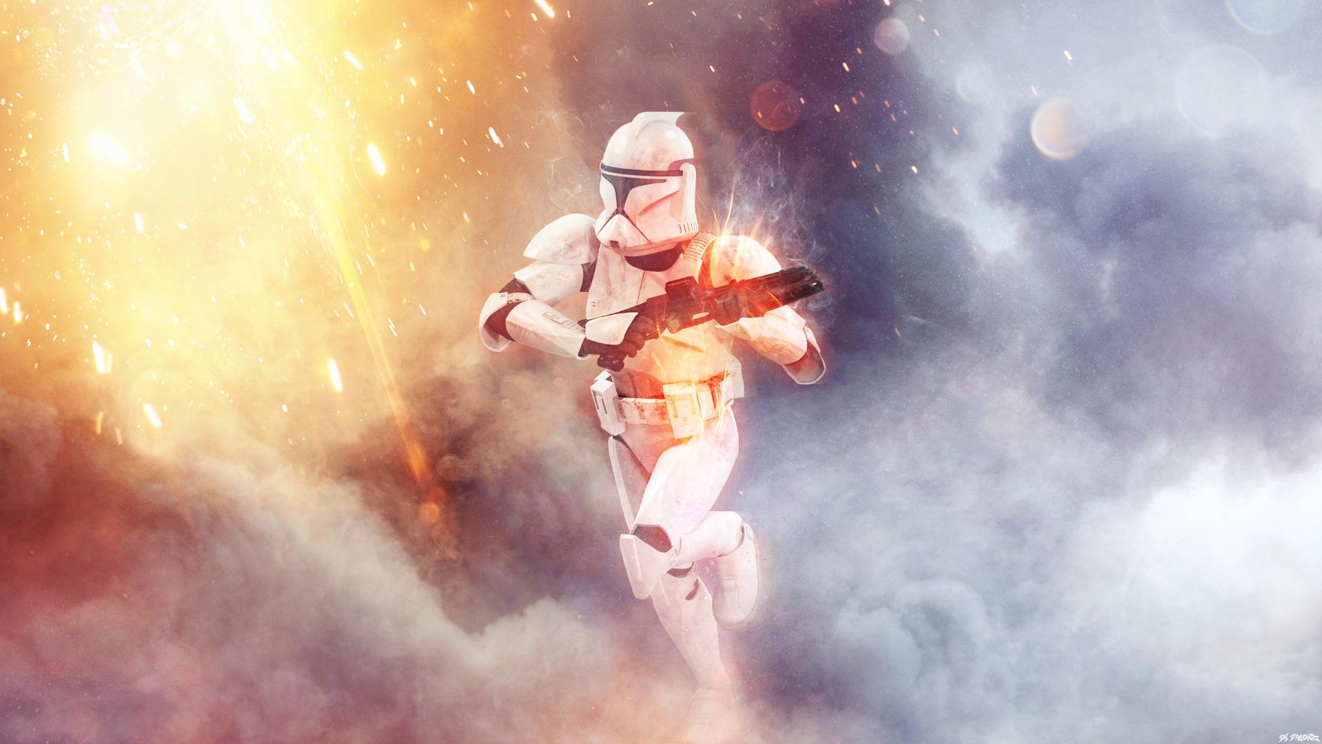 Battlefront 1 Phase 1 Clone Trooper Fondo De Pantalla Hd