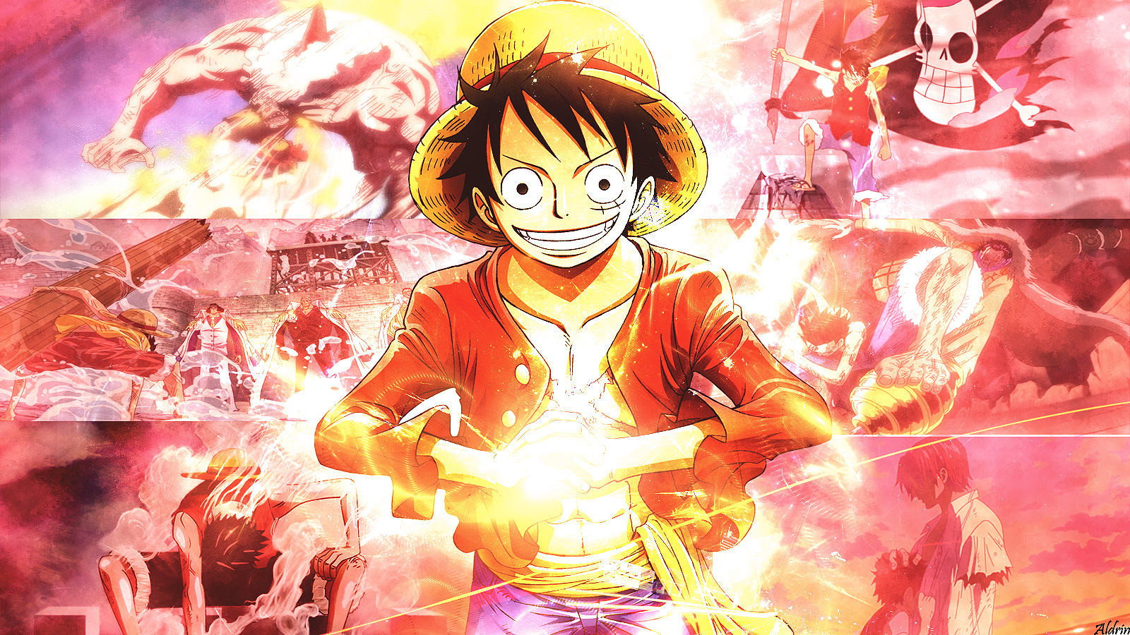 One Piece Wallpaper and Background Image | 1600x900 | ID:745242 - Wallpaper Abyss