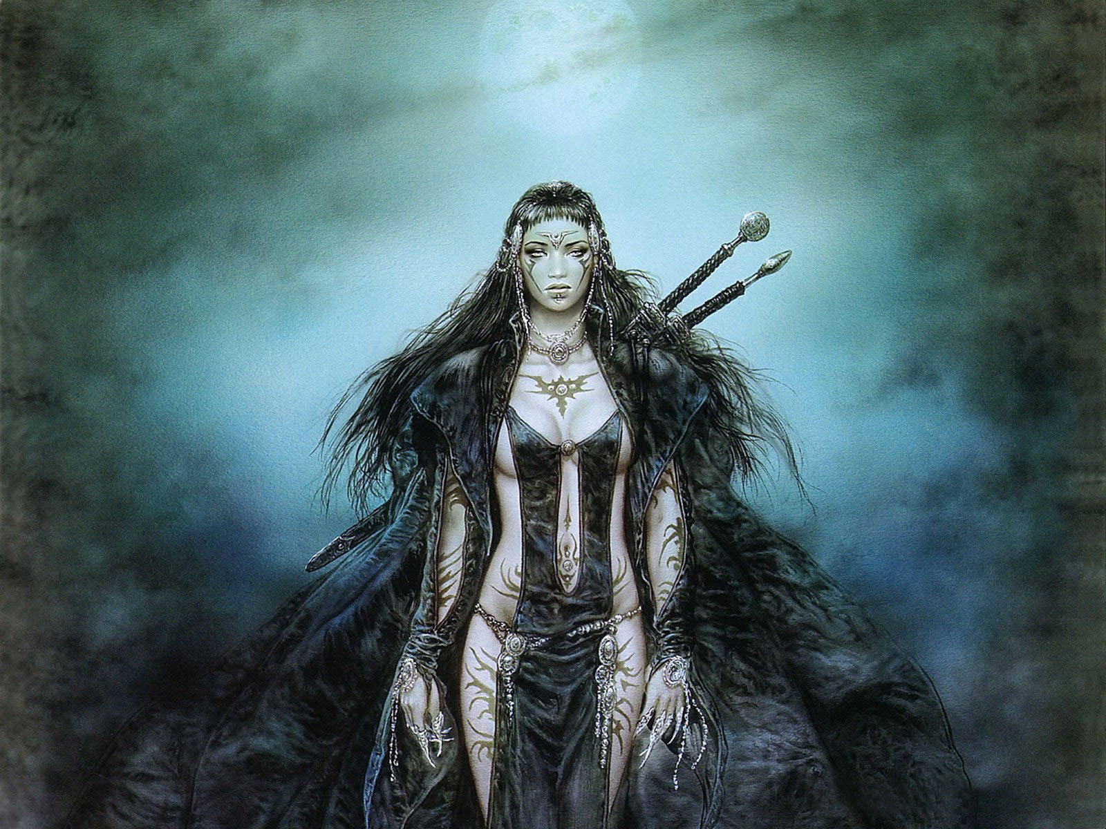 Fantasy - Luis Royo Wallpaper