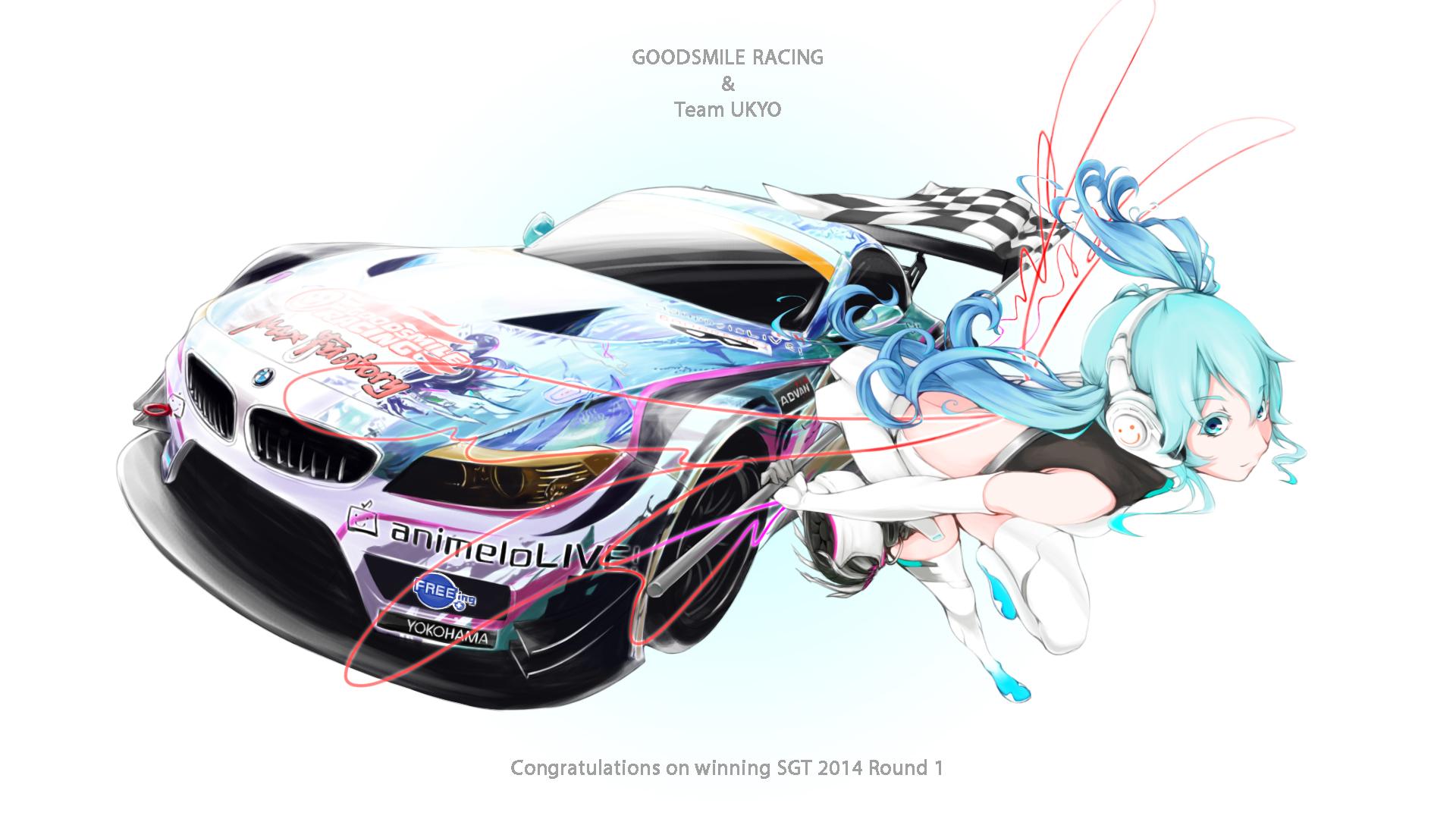 45+ Hatsune Miku Bmw Wallpaper  Background