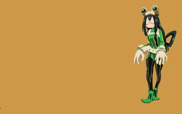 Anime My Hero Academia Tsuyu Asui Minimalist HD Wallpaper   Background Image