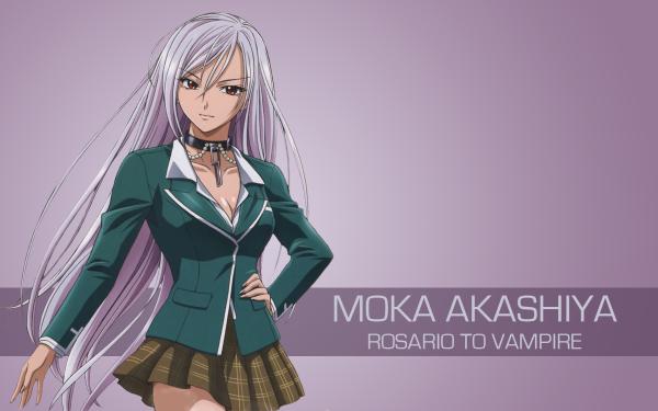 Anime Rosario + Vampire HD Wallpaper   Background Image