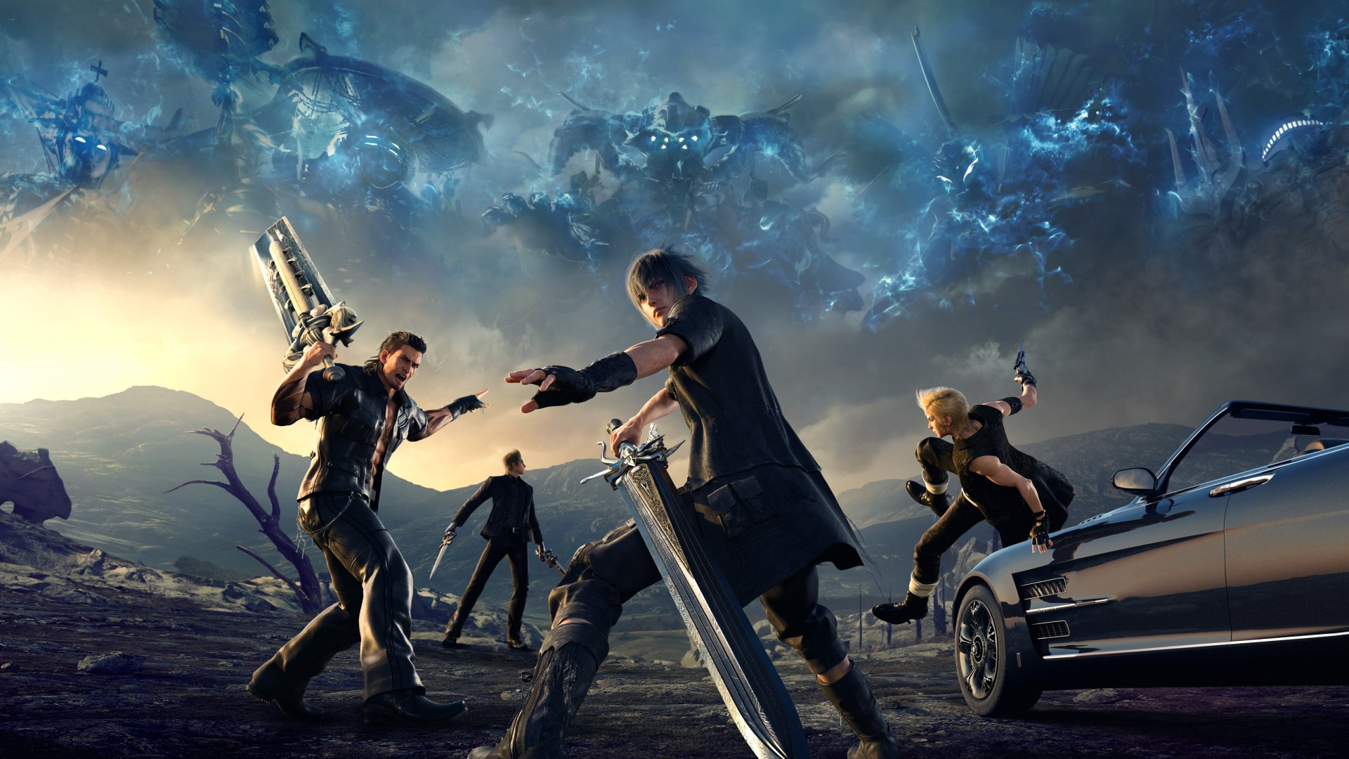 117 Final Fantasy Xv Hd Wallpapers: Final Fantasy XV HD Wallpaper
