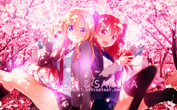 Anime Crossover Your Lie in April HD Wallpaper | Background Image