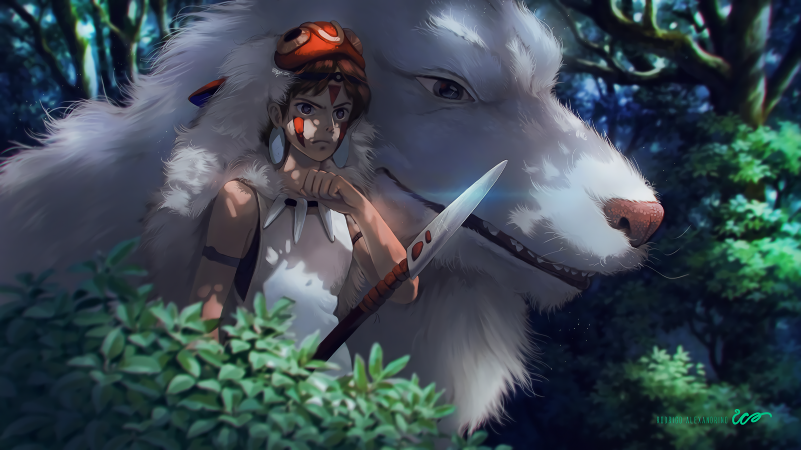 Image Result For Princess Mononoke Hd Wallpapers Background Images