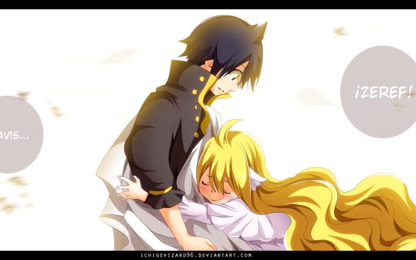 Anime Fairy Tail Mavis Vermilion Zeref Dragneel Fond d'écran HD   Image