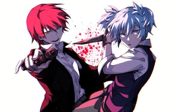 Anime Assassination Classroom Nagisa Shiota Karma Akabane HD Wallpaper | Background Image