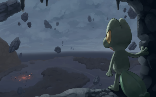 Video Game Pokémon Mystery Dungeon: Explorers of Time Pokémon Treecko HD Wallpaper | Background Image