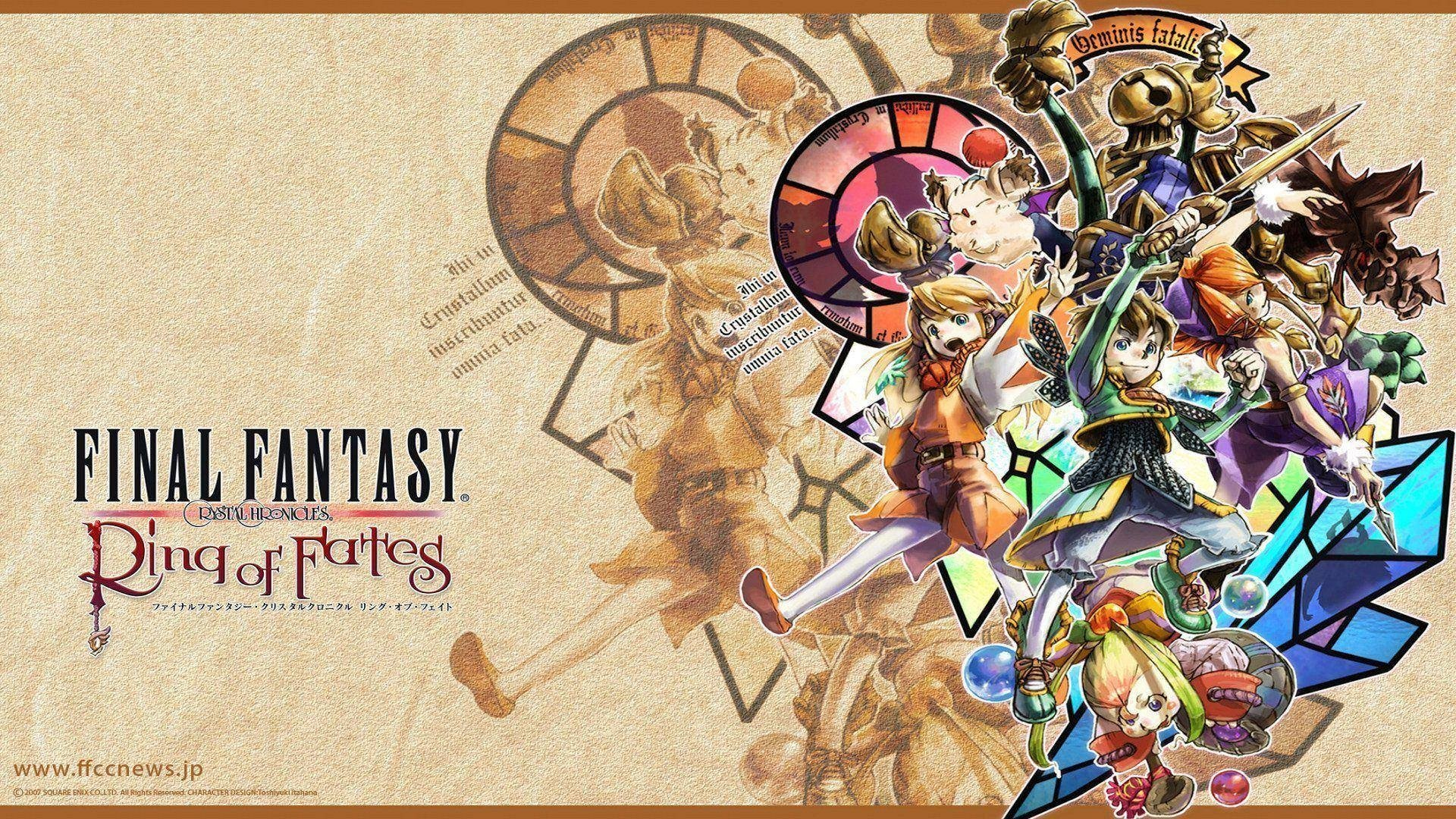 Final Fantasy Crystal Chronicles Hd Wallpaper Background Image