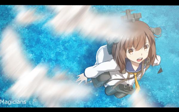 Anime Kantai Collection Yukikaze Ocean HD Wallpaper   Background Image