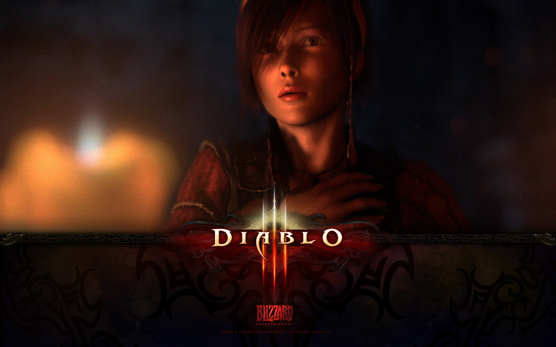 Video Game - Diablo III  Leah (Diablo III) Wallpaper