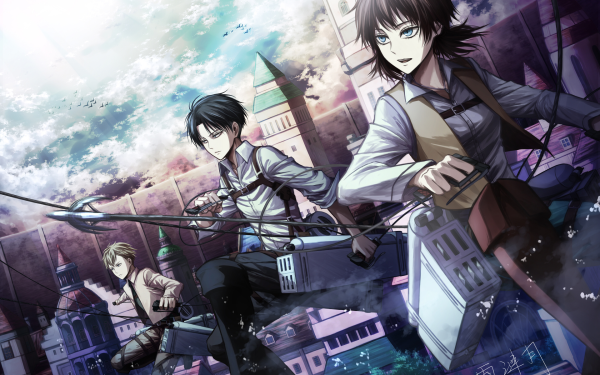 Anime Attack On Titan Furlan Church Levi Ackerman Isabel Magnolia HD Wallpaper | Background Image