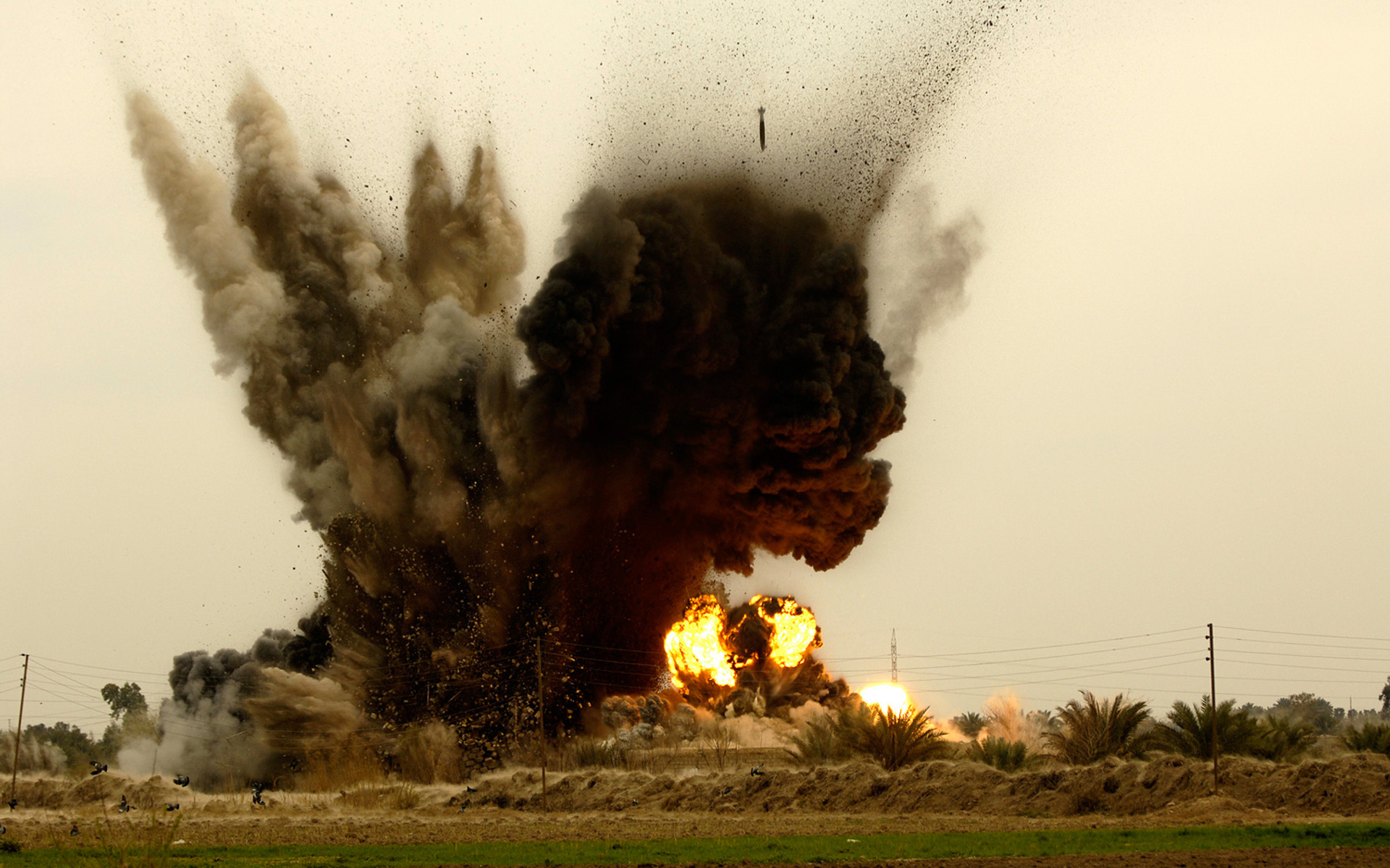 Explosion HD Wallpaper | Background Image | 1920x1200 | ID ...