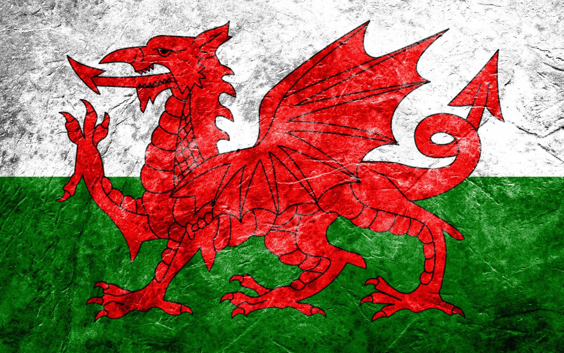 Diversen - Flag Of Wales  Wallpaper