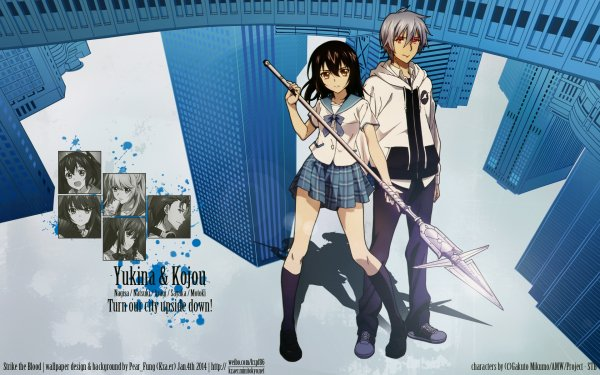 Anime Strike the Blood HD Wallpaper   Background Image