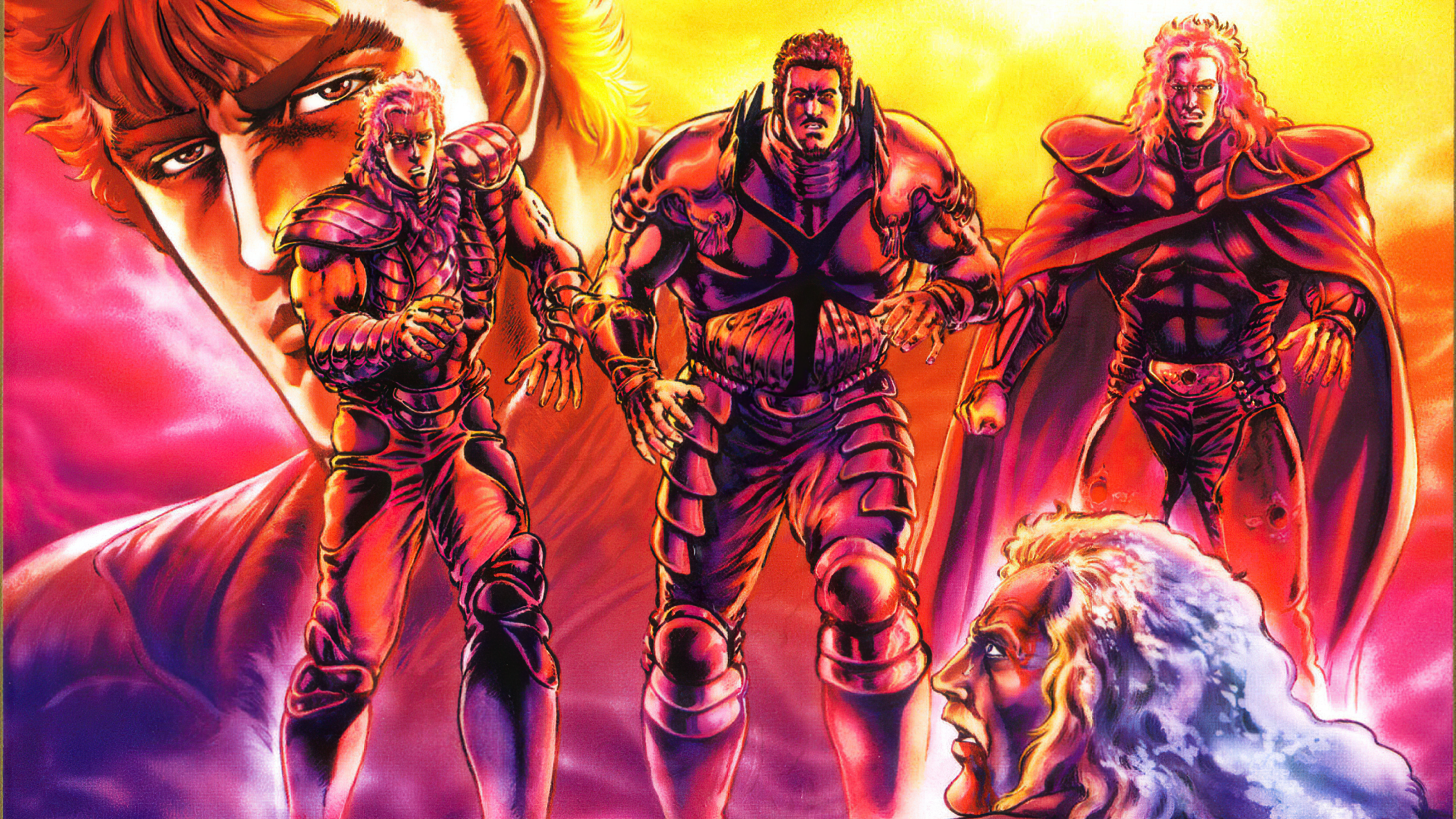 Fist Of The North Star Wallpaper And Background Image 1900x1069