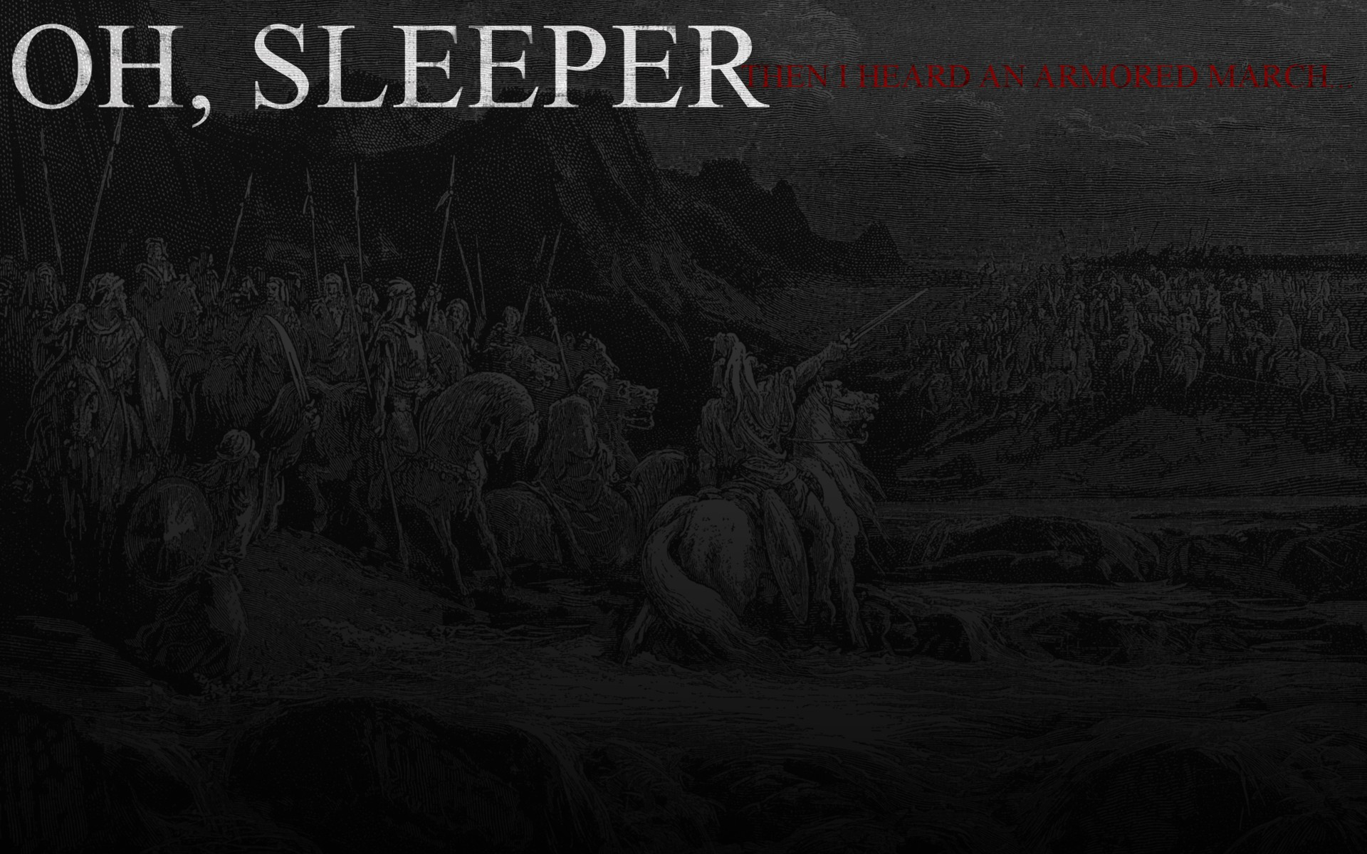 Music - oh sleeper Wallpaper