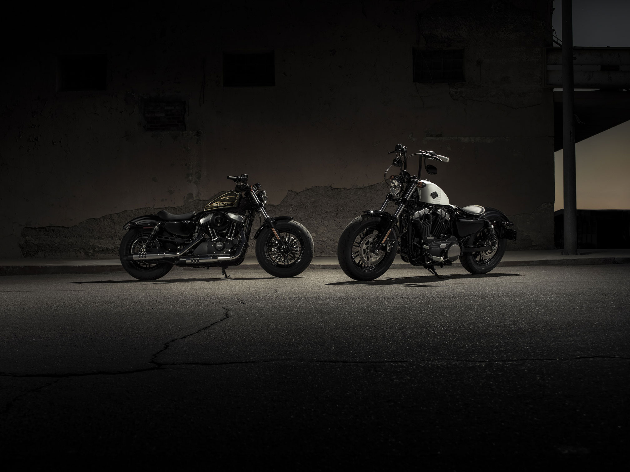 2017 Harley Davidson Forty Eight Full HD Wallpaper And Background