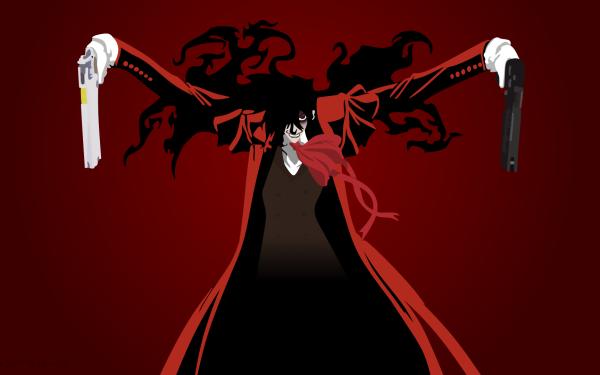 Anime Hellsing Alucard Vampire Pistol Gun HD Wallpaper | Background Image