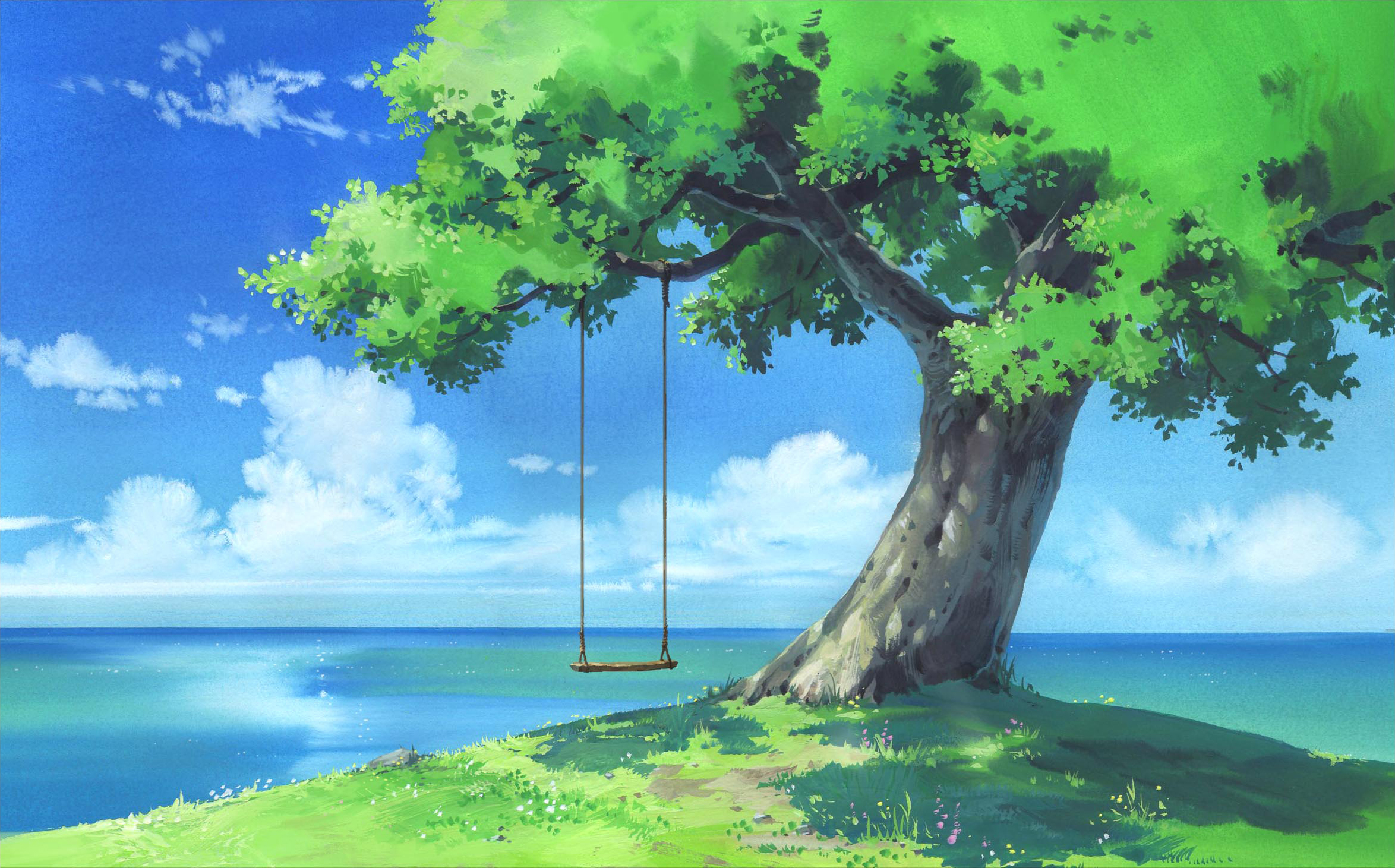 Anime Original Scenery Wallpaper