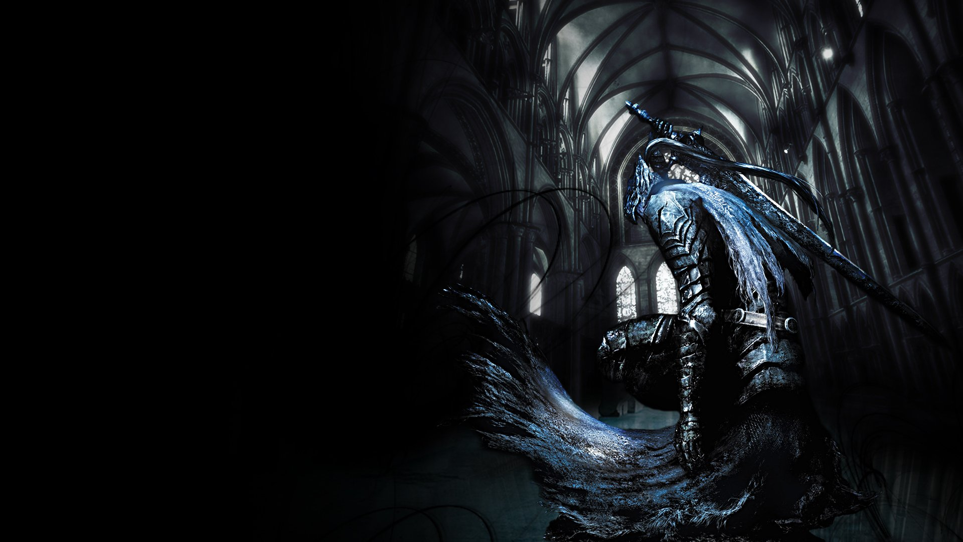 Video Game - Dark Souls  Knight Dark Artorias (Dark Souls) Gothic Wallpaper