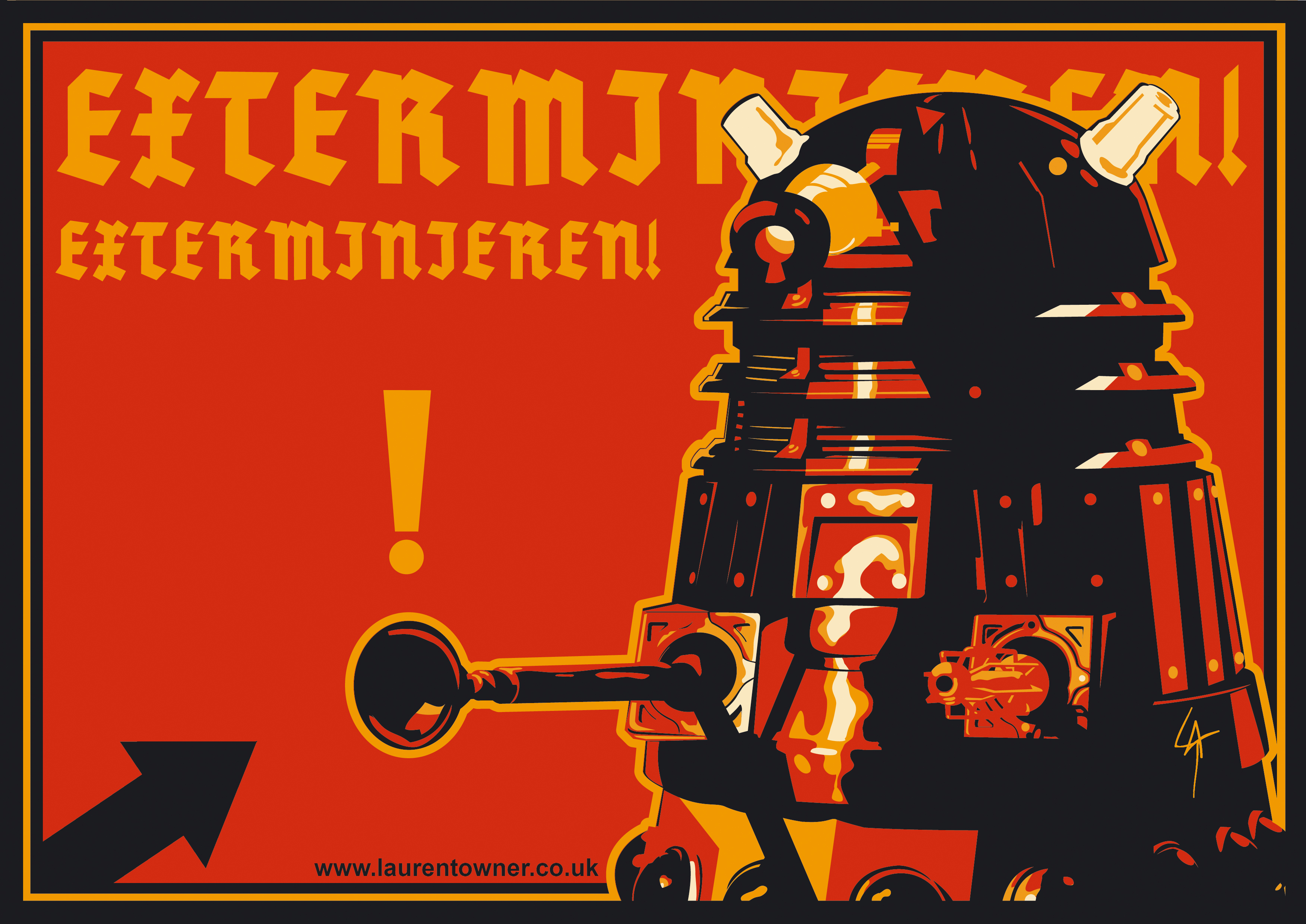 Televisieprogramma - Doctor Who  Dalek Wallpaper