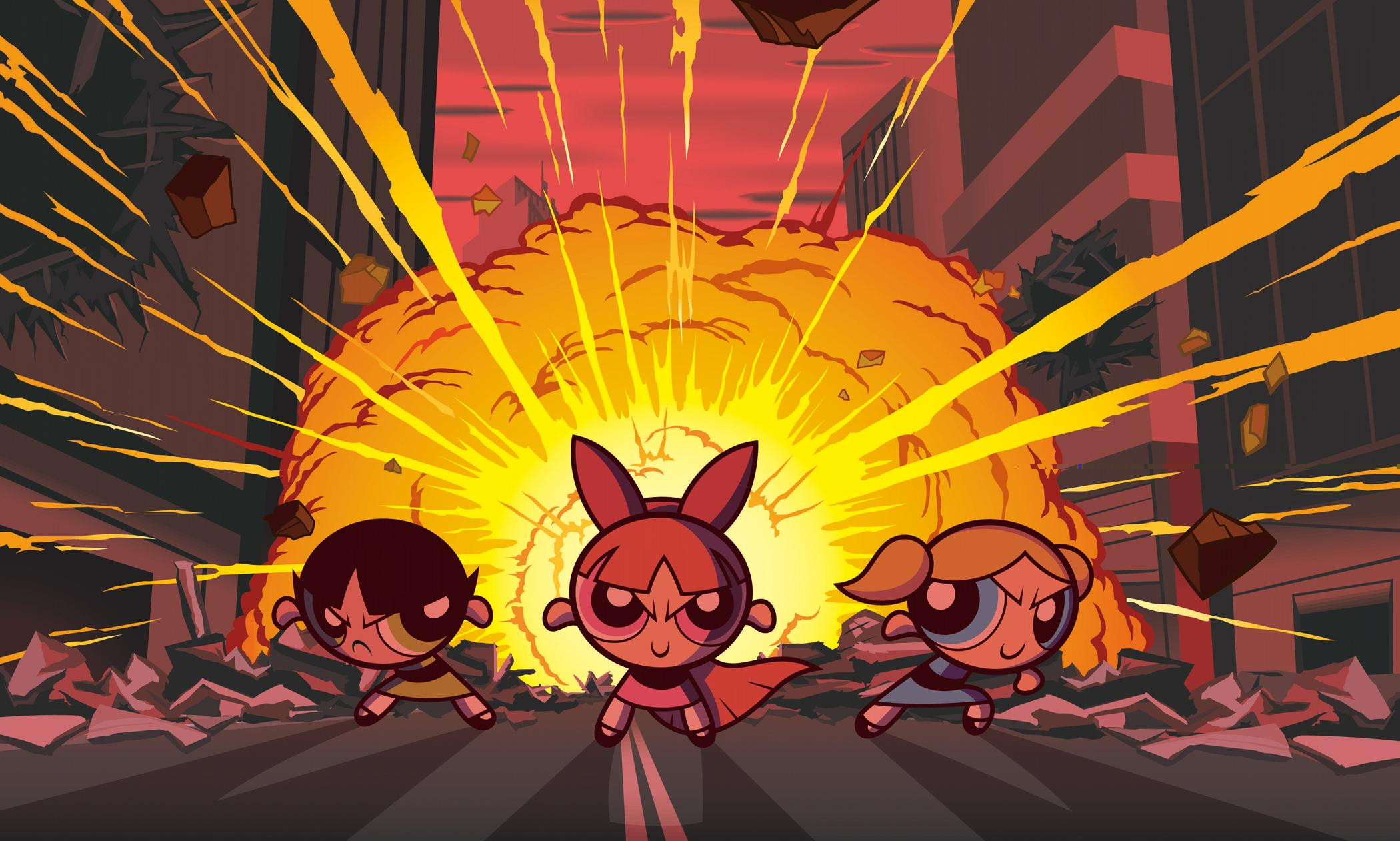 The Powerpuff Girls HD Wallpaper | Background Image | 2100x1262 | ID:76267 - Wallpaper Abyss