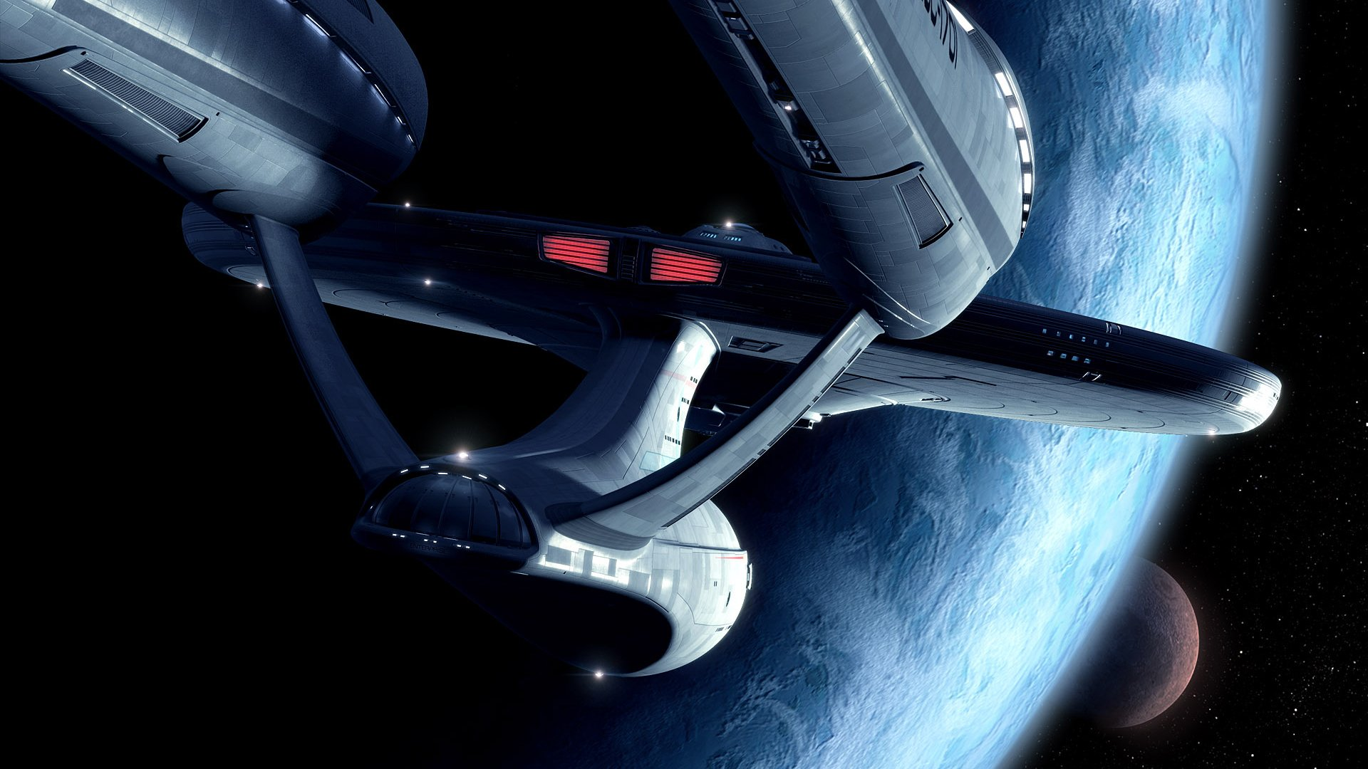 Sci Fi - Star Trek  Star_trek Star Wars Wallpaper