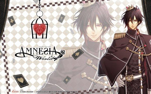 Anime Amnesia Shin Otome Game HD Wallpaper | Background Image