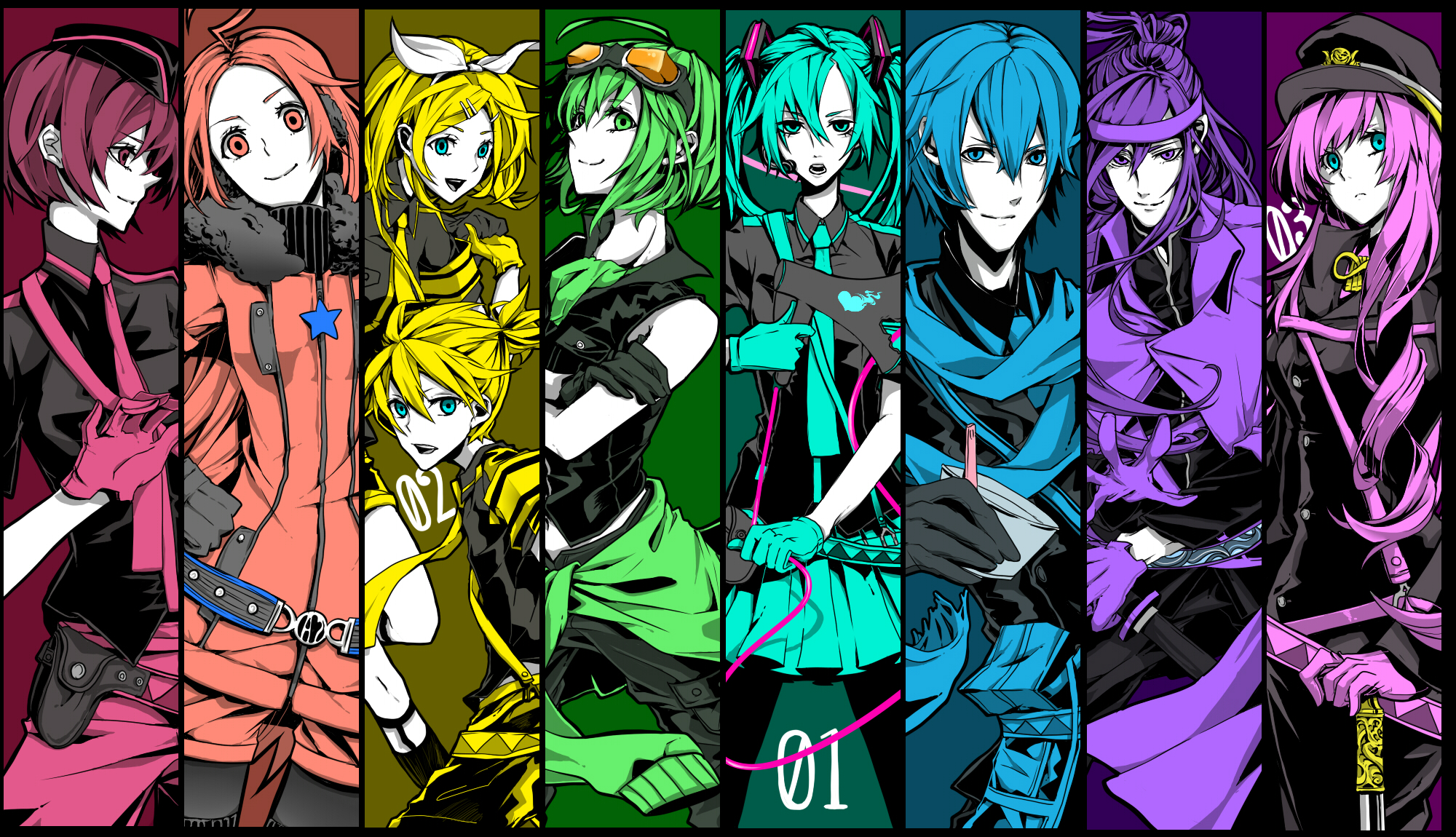 Vocaloid HD Wallpaper | Background Image | 2000x1150 | ID:768140 - Wallpaper Abyss