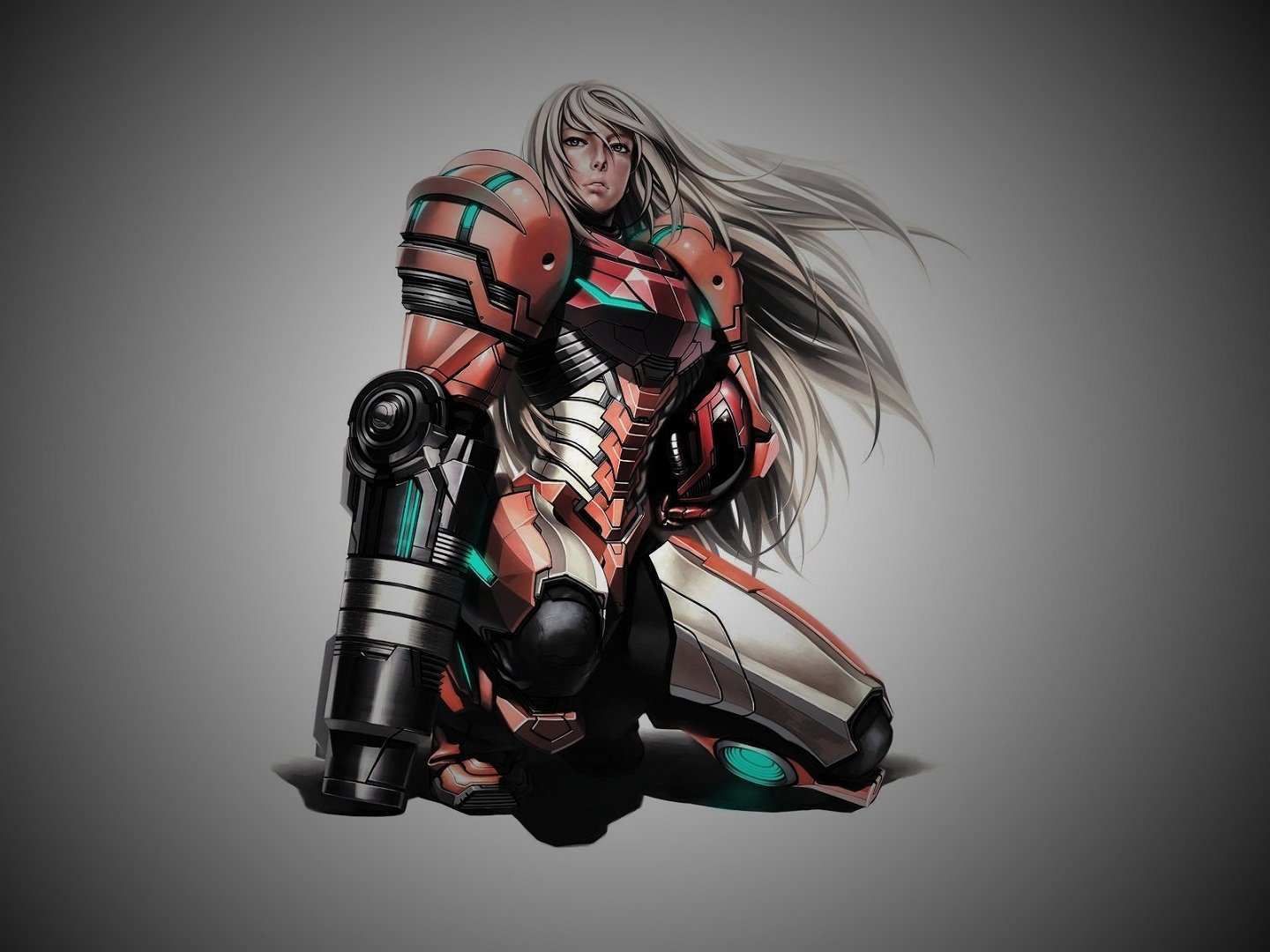 Video Game - Metroid  Metroid Prime Samus Aran Wallpaper