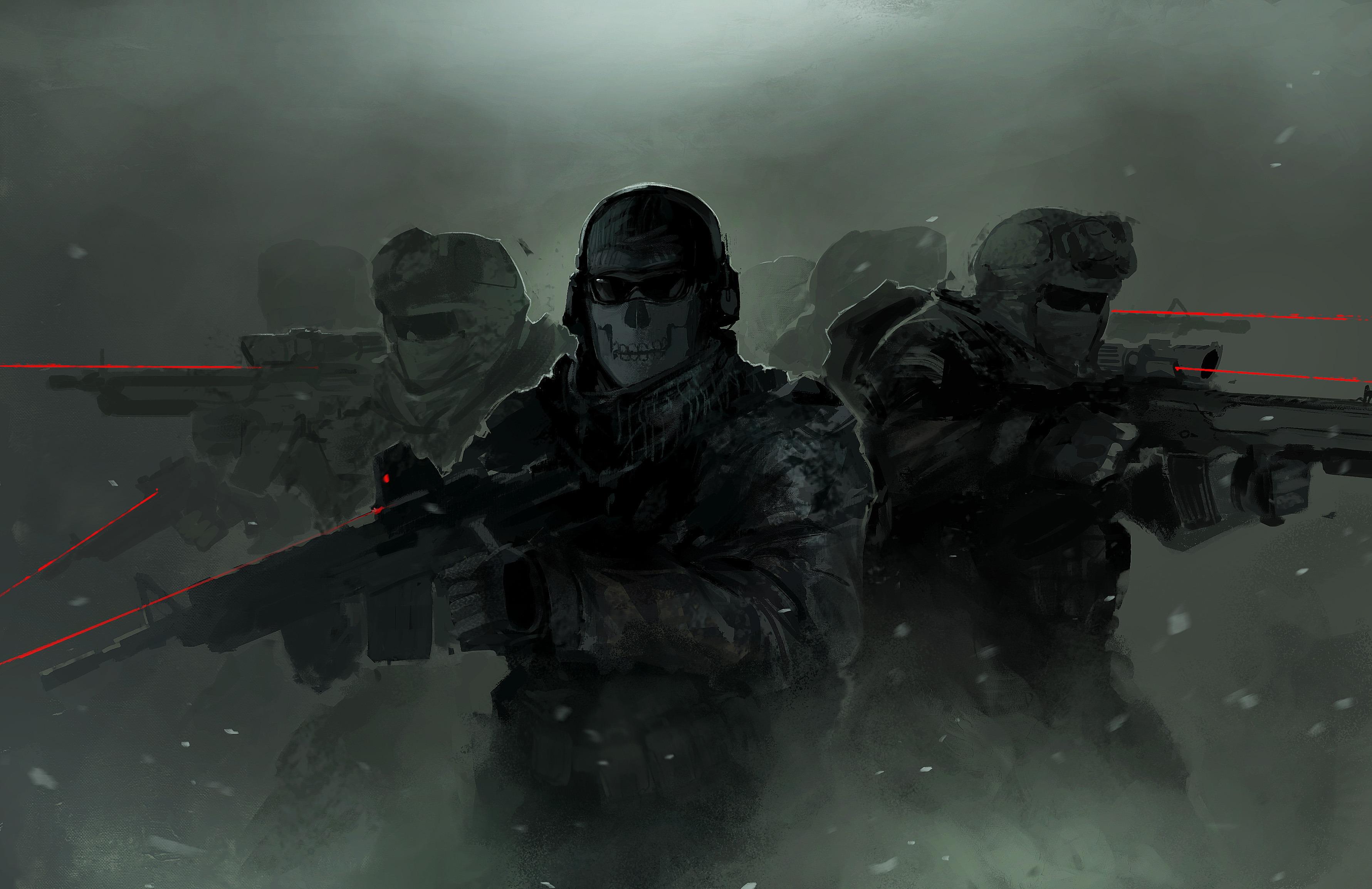 call of duty: modern warfare 2 hd wallpaper   background image