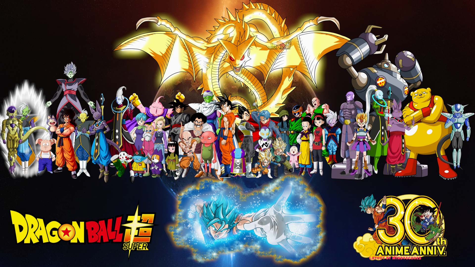 Anime - Dragon Ball Super  Zarama (Dragon Ball) Goku SSGSS Goku Frieza (Dragon Ball) Zamasu (Dragon Ball) Puar (Dragon Ball) Yamcha (Dragon Ball) Gowasu (Dragon Ball) Beerus (Dragon Ball) Whis (Dragon Ball) Chiaotzu (Dragon Ball) Pilaf (Dragon Ball) Shu (Dragon Ball) Bulma (Dragon Ball) Master Roshi (Dragon Ball) Android 18 (Dragon Ball) Mai (Dragon Ball) Majin Buu Krillin (Dragon Ball) Black (Dragon Ball) Black Goku Hercule (Dragon Ball) Piccolo (Dragon Ball) Monaka (Dragon Ball) Zeno (Dragon Ball) Vegeta (Dragon Ball) Jaco Teirimentenpibosshi Goten (Dragon Ball) Trunks (Dragon Ball) Pan (Dragon Ball) Chi-Chi (Dragon Ball) Videl (Dragon Ball) Great Saiyaman (Dragon Ball) Tien Shinhan (Dragon Ball) Supreme Kai (Dragon Ball) Hit (Dragon Ball) Kyabe (Dragon Ball) Vados (Dragon Ball) Magetta (Dragon Ball) Botamo (Dragon Ball) Champa (Dragon Ball) Frost (Dragon Ball) Vegito (Dragon Ball) SSGSS Vegito Wallpaper