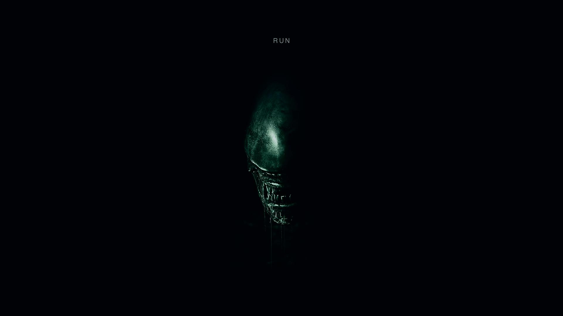 alien covenant run poster wallpaper-#7