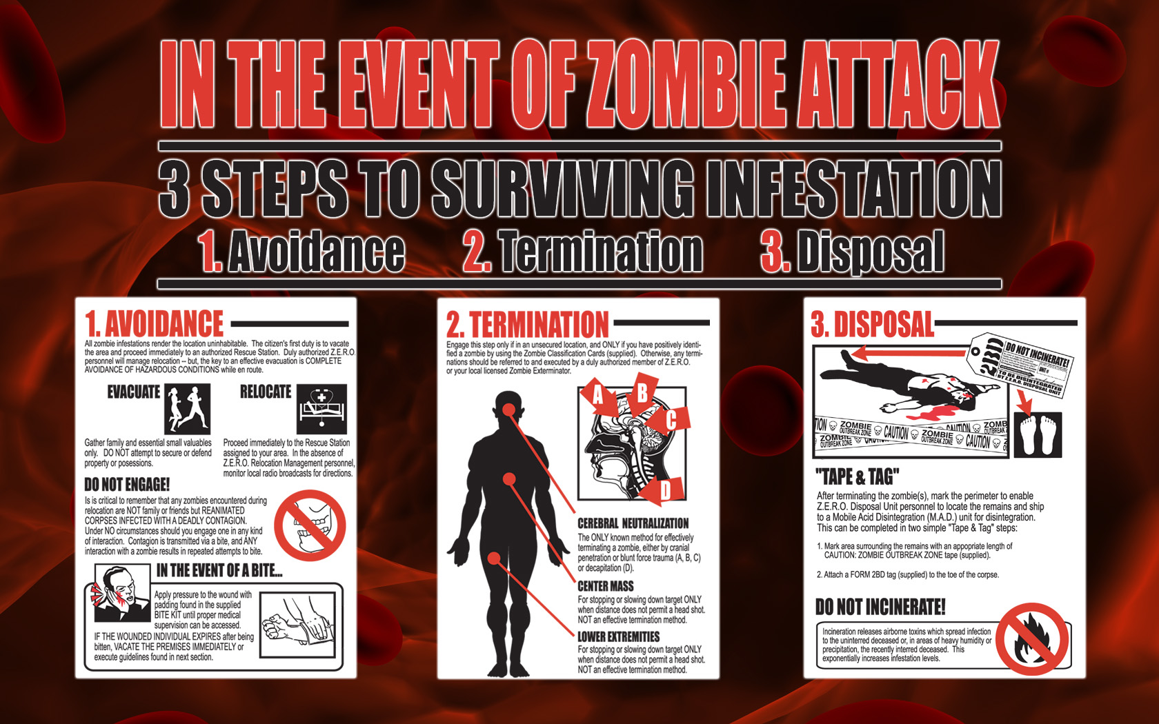 Dark - Zombie  Fallout 3 Wallpaper
