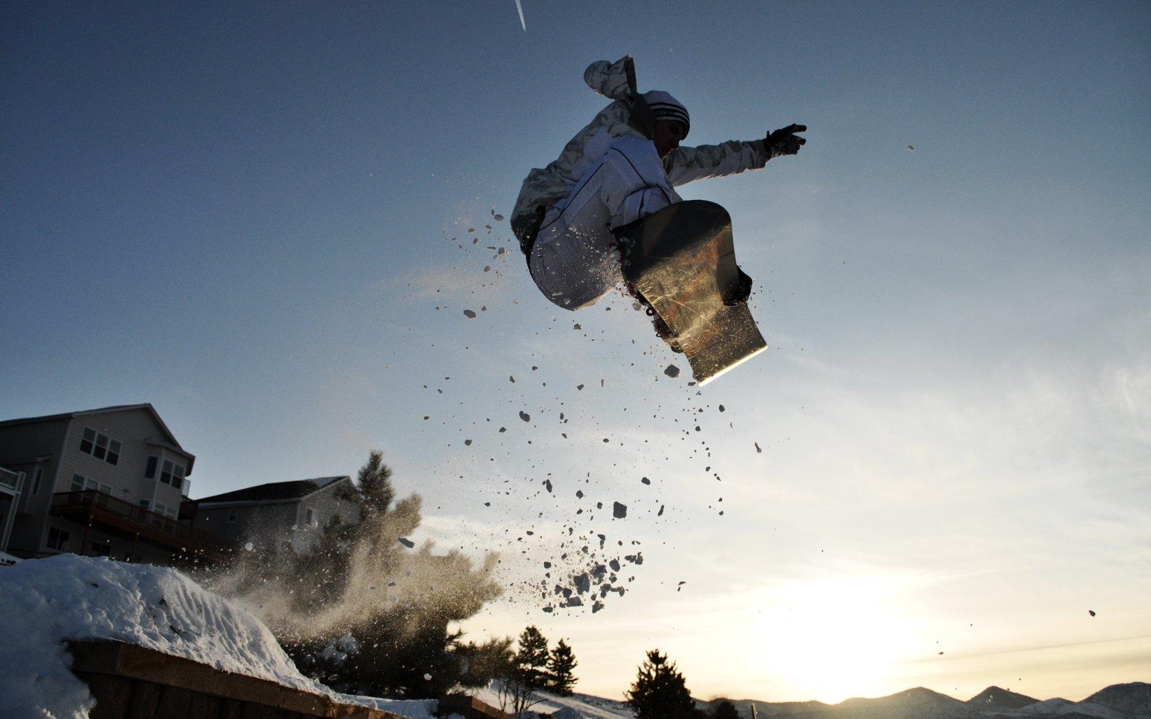 Deporte - Snowboard  Fondo de Pantalla