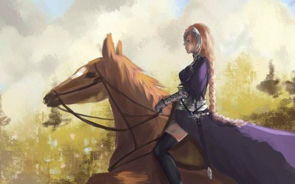 Anime Fate/Apocrypha Fate Series Ruler Fate/Grand Order Jeanne d'Arc HD Wallpaper | Background Image