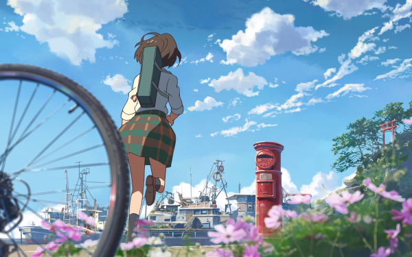 Anime Cross Road Miho HD Wallpaper | Background Image