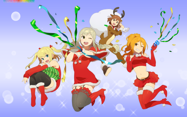 Anime Schoolgirl Strikers: Animation Channel HD Wallpaper | Background Image