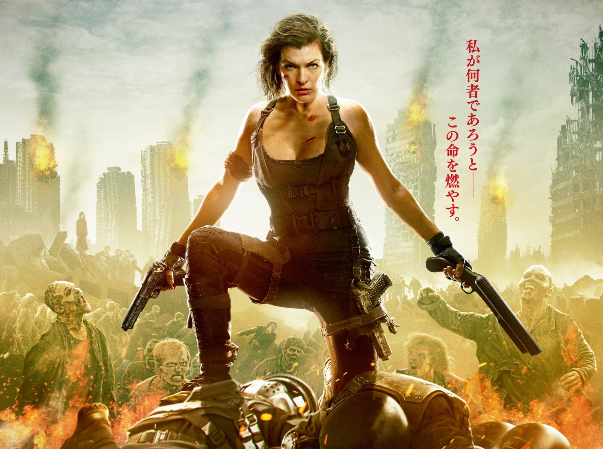 Movie - Resident Evil: The Final Chapter  Milla Jovovich Alice (Resident Evil) Wallpaper